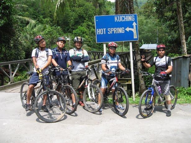 Riding kat Kpg. Sadir, Pergunungan Puncak Borneo