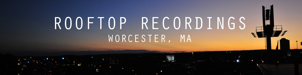 Rooftop Recordings - Worcester