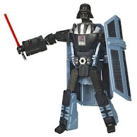 Darth Vader TIE Fighter Transformer Toy