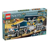 Lego Agents Mobile Command Center