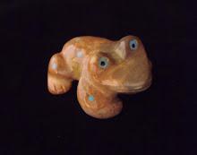 Zuni Frog Fetish