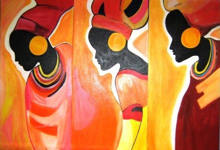 Cuadros africanos etnicos - Imagui