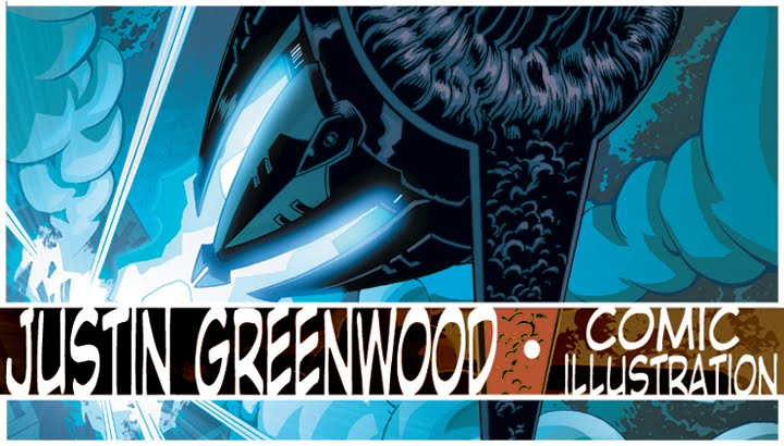 Justin Greenwood Comic Art