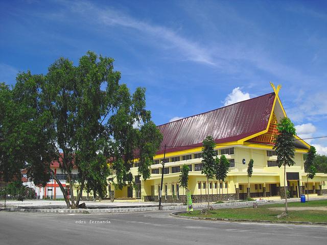 ... di Gedung Pusat Kegiatan Mahasiswa (PKM) Universitas Lancang Kuning