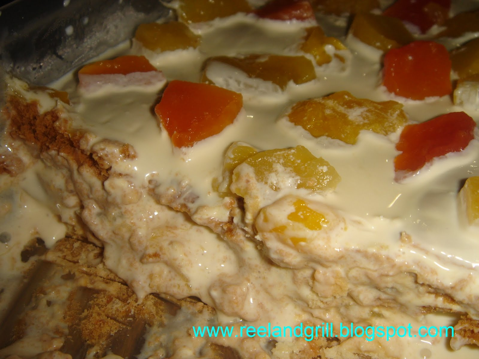 refrigerated cake no bake cake recipe graham cracker fruit