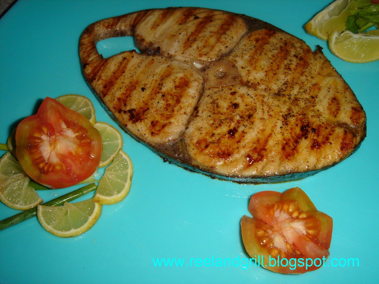Reel and Grill: Tanigue Steak (Seer Fish Steak)
