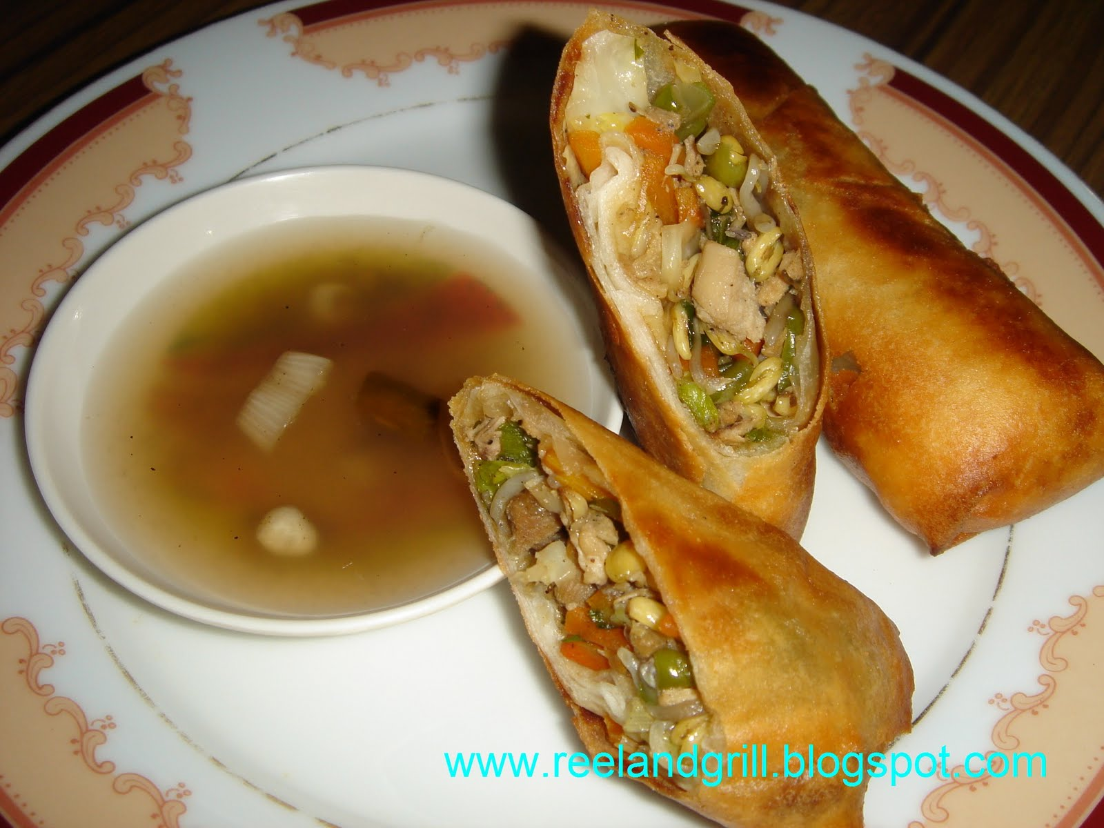 ... : Lumpia or Lumpiang Prito or Lumpiang Gulay (Vegetable Spring Roll