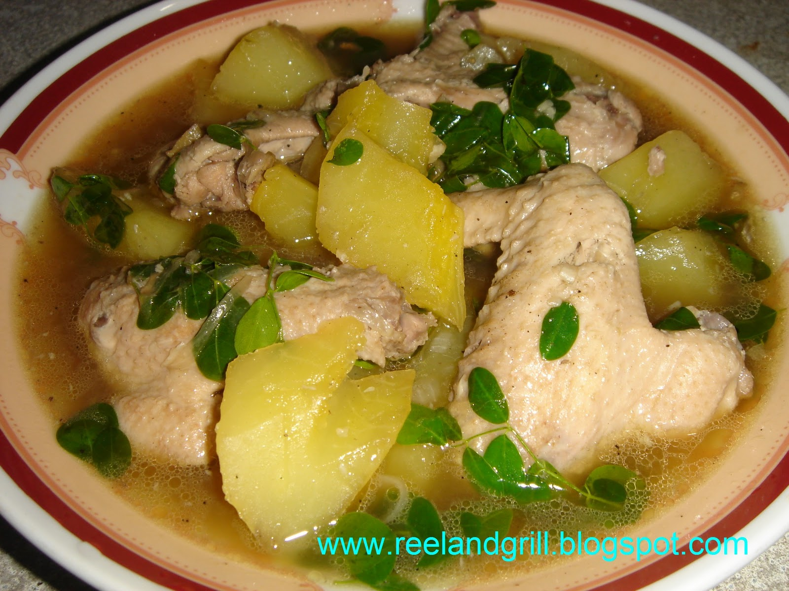 how to cook tinolang manok with papaya