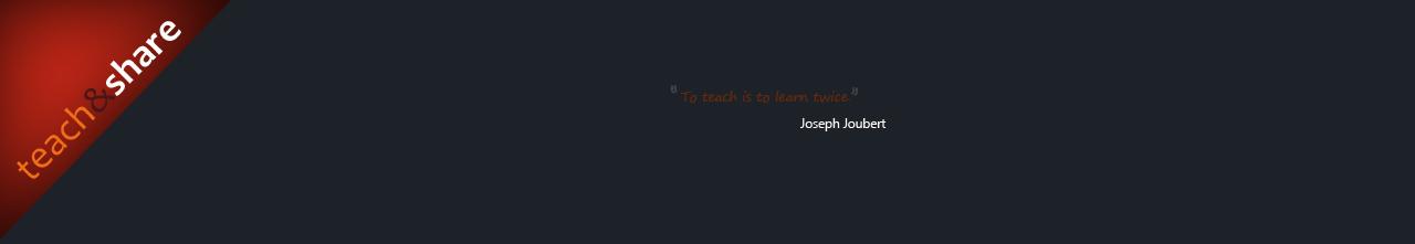 teach&share