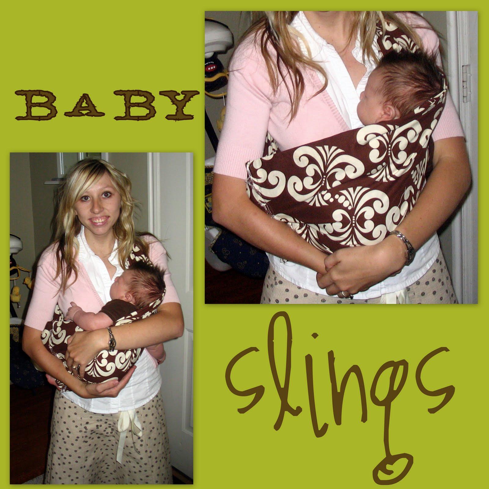 baby sling instructions newborn