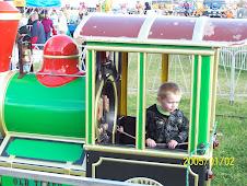 Train ride!