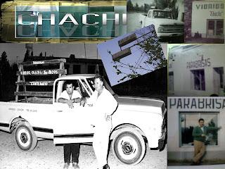 VIDRIOS CHACHI(RECUERDO)