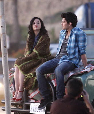 Demi Lovato Wave on Kar1n9  Joe Jonas Y Demi Lovato Filmando  Make A Wave