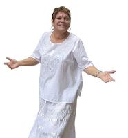 La actriz Elvia Pérez Nápoles