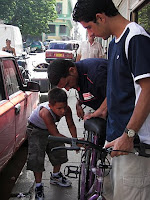 La bicicleta de la shopping