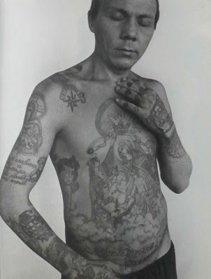 Of Interest Russian Prison Tattoo Portraits by Sergei Vasiliev
