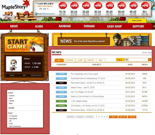 1 MapleStory website more useful and help foster
