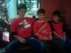 MY SONS..amin,ilyas, yaqub.