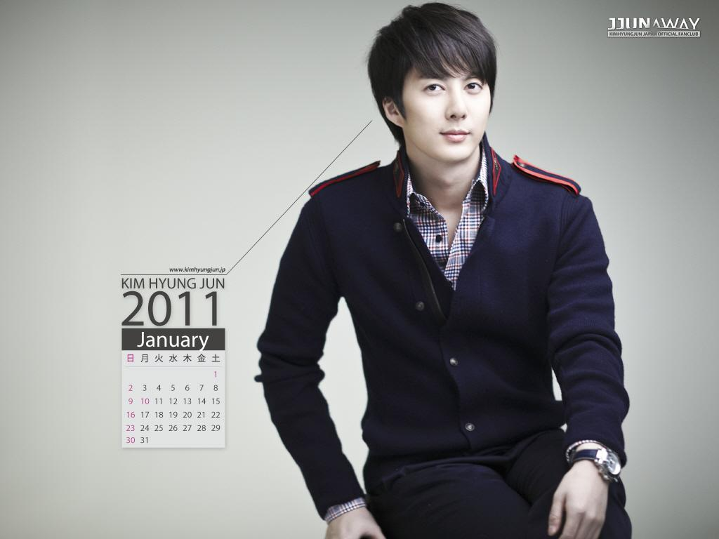 Abs0LuteLy501day: [Photo] Kim Hyung Jun 2011 Calendar ^^