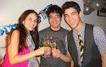 Ano Novo na Cristine & Elcio- 2010
