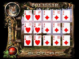 Play flash version of WildHeart slot machine at Slotland Casino!