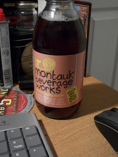 Montauk Beverage Works Black tea w/ leomongrass