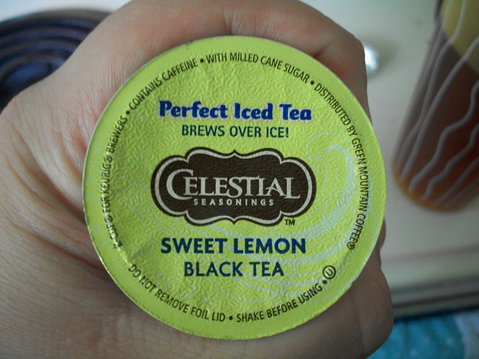 In With Bacchus Celestial Seasoning S Sweet Lemon Iced
