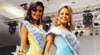 Tania Ismael es Miss Cochabamba 2009 y Giovanna Arévalo es Señorita Cochachabamba 2009