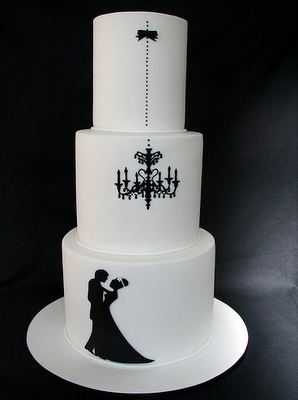 elegant whimsical wedding cakes