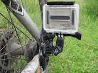 GoPro Helmet Mount on Bike Frame