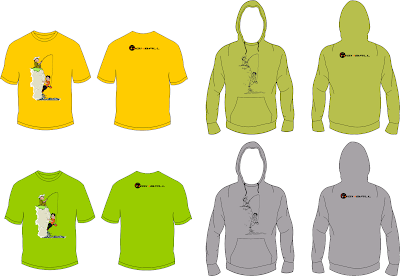 Climbing T-shirt and Hoodie - Deep Water Solo