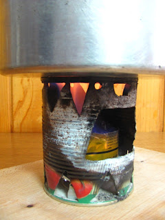 Alcohol Hobo Stove Lateral View