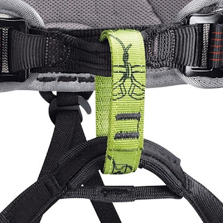 belay loop in climbing harness