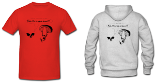 Paragliding Hoodie and T-shirt
