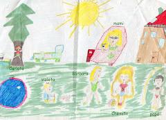 Dibujo de tu hermana Bárbara