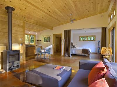 Modern cabin Modern cabin interior design