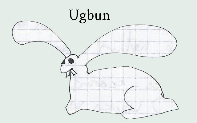 Ugbun the Ugly Bunny