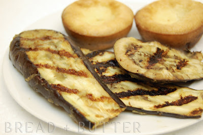 Bread + Butter: Miso Ginger Grilled Eggplant