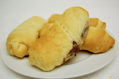 Nutty Nutella Rolls Recipe — Dishmaps