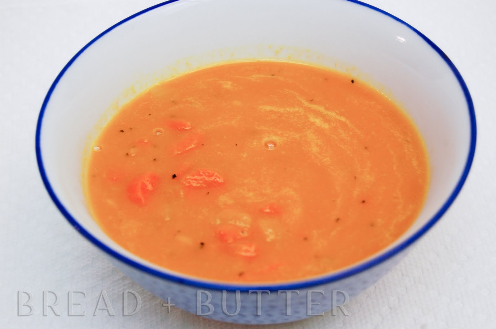 Bread + Butter: Carrot Ginger Soup
