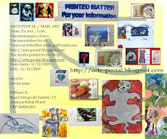 Project  Mailart -I AM  /  Arte Postal - Eu sou