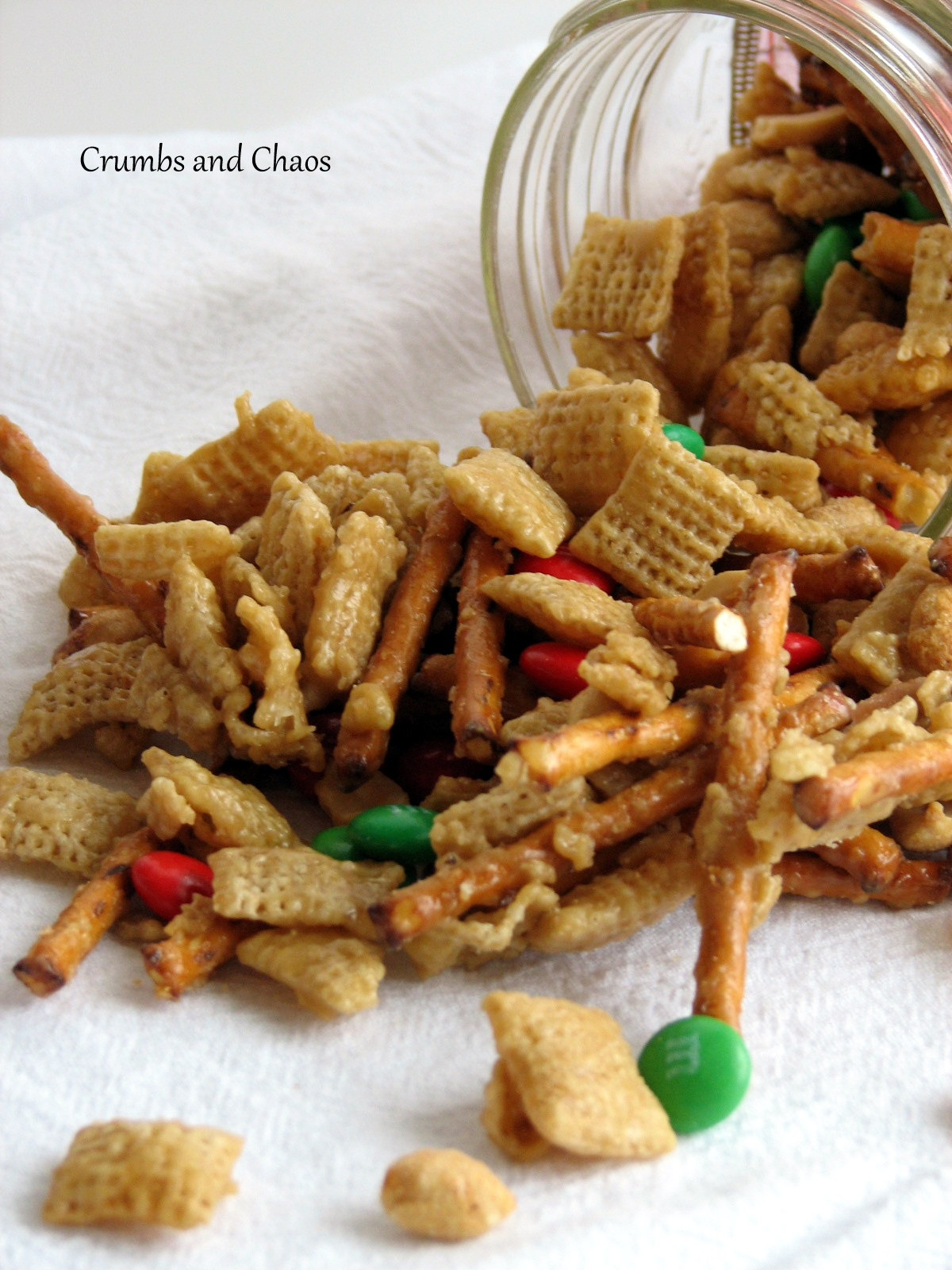 Sweet salty snack mix crumbs and chaos sweet salty snack mix forumfinder Images
