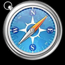 MegaPost Navegadores 2010  los mejores 5 Safari Browser Logo