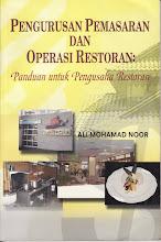 Buku Pengurusan Pemasaran dan Operasi Restoran: Panduan untuk pengusaha restoran