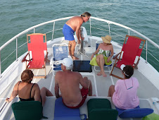 Boating with friends