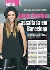 JOANA FREITAS ASSALTADA EM BARCELONA