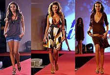 "DIANA CHAVES, DÂNIA NETO E LILIANA AGUIAR EM DESFILE ""MODALFA FASHION DREAM"""