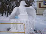 Первый снег - Новосибирск