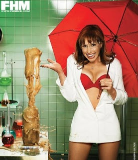 Pics of Kari Byron FHM Playboy Cover