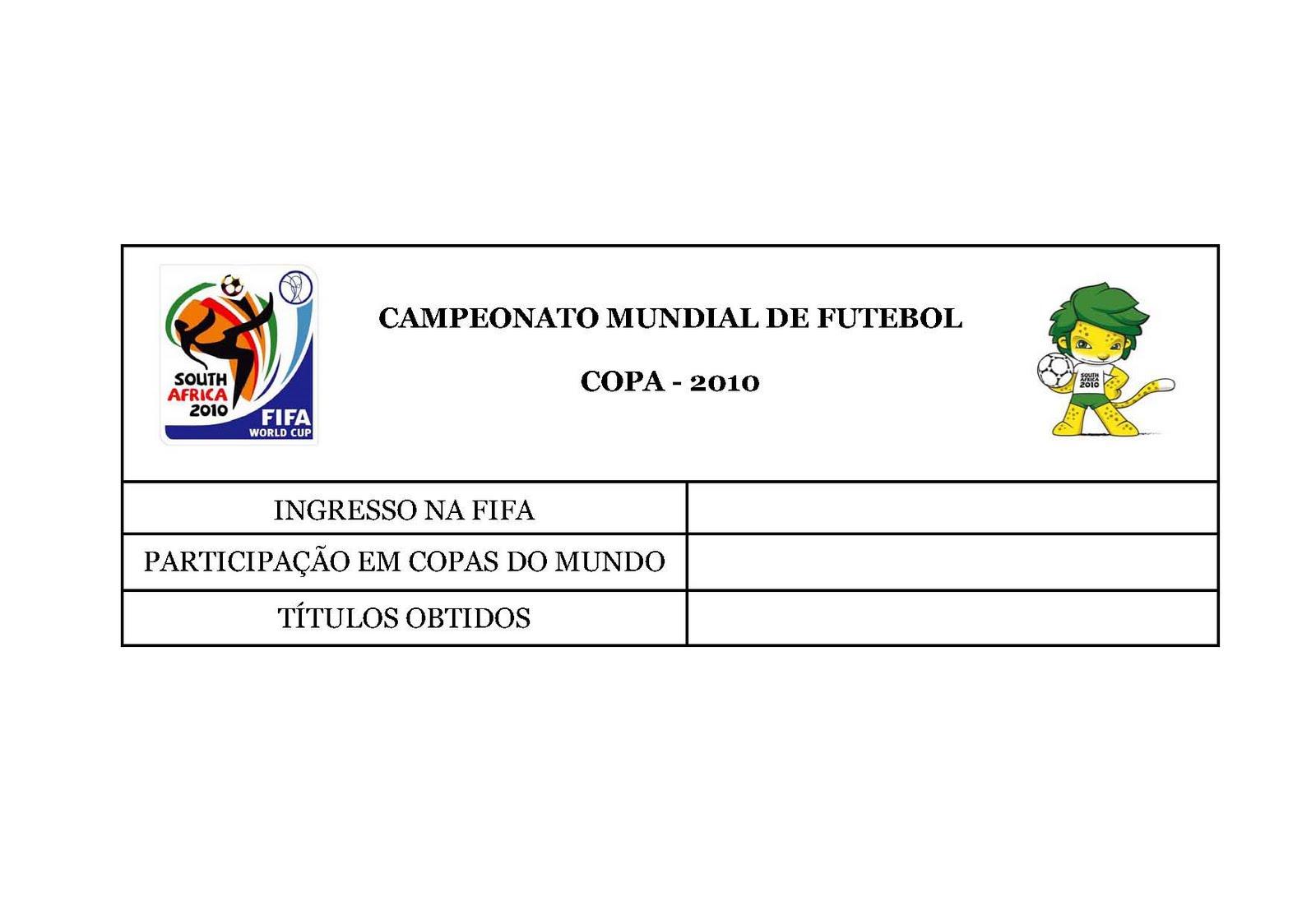 4eb514fce5075 GEOGRAFIA EM FOCO  Tabelas do Trabalho da Copa do Mundo 2010